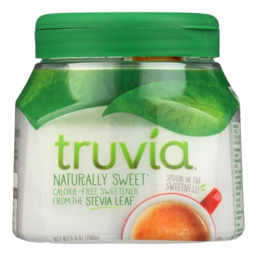 Truvia Natural Spoon able Sweetener - Case of 12 - 9.8 oz. Perspective: front