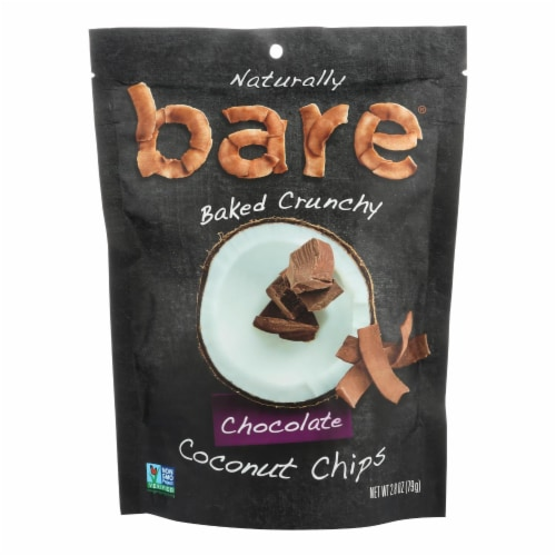 Bare Fruit Bare Fruit Coconut Chips - Choco Bliss - Case of 12 - 2.8 oz. Perspective: front