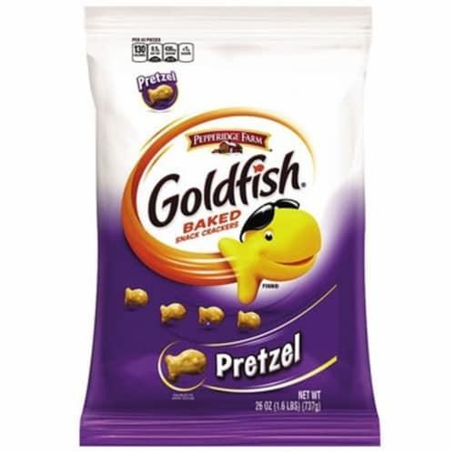 Pepperidge Farms Goldfish Pretzel - 26 oz. carton, 6 per case Perspective: front