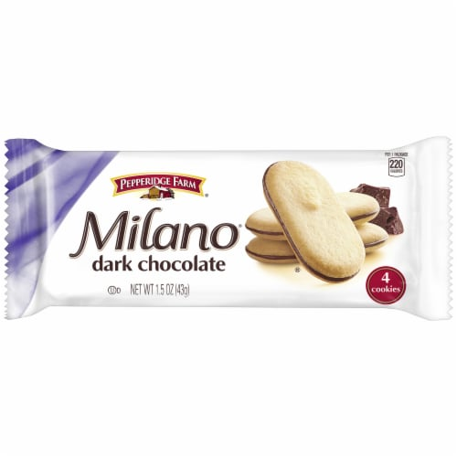Cookie Puff Milano, 1.5 Ounce -- 60 Case Perspective: front