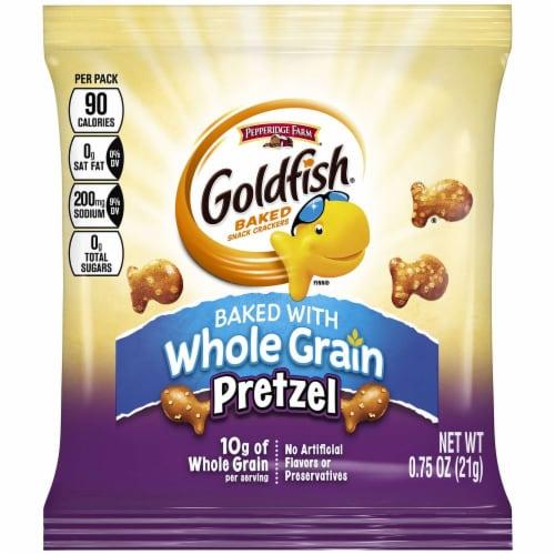 Pepperidge Farm Pretzel Goldfish - 0.75 oz. bag, 300 per case Perspective: front