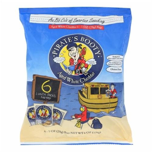 Pirate Brands Pirate's Booty Multipack - Case of 12 - 6/1 oz Perspective: front