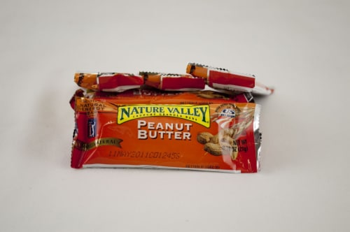General Mills Peanut Butter Nature Valley Crunchy Granola Bar 144 Case .74 Ounce Perspective: front
