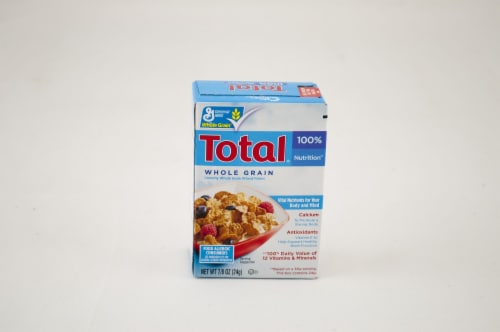 General Mills Total Whole Grain Cereal, Single Pack, 0.88 Ounce -- 70 per case. Perspective: front