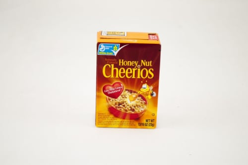 General Mills Honey Nut Cheerios Cereal, Single Pack, 0.81 Ounce -- 70 per case. Perspective: front