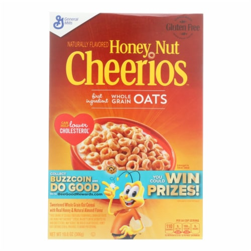 Honey Nut Cheerios Cereal (12 Pack) Perspective: front