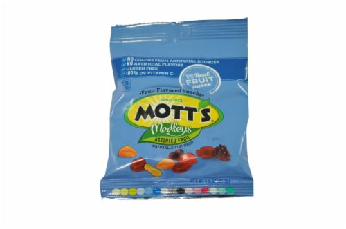 Motts Assorted Fruit Snacks, 1.6 Ounce -- 144 per case. Perspective: front