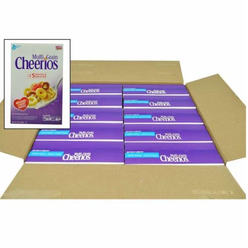 Cheerios Multi Grain Cereal, 12 Ounce -- 10 per case. Perspective: front