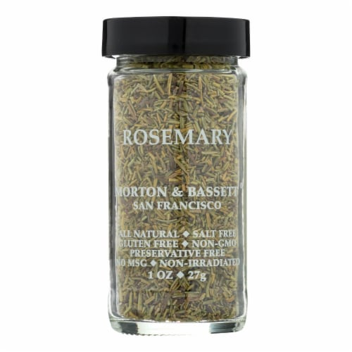 Morton and Bassett Rosemary - .65 oz - Case of 3 Perspective: front