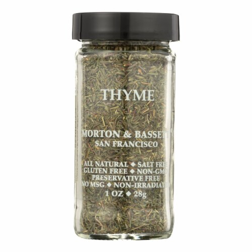 Morton and Bassett Thyme - .8 oz - Case of 3 Perspective: front