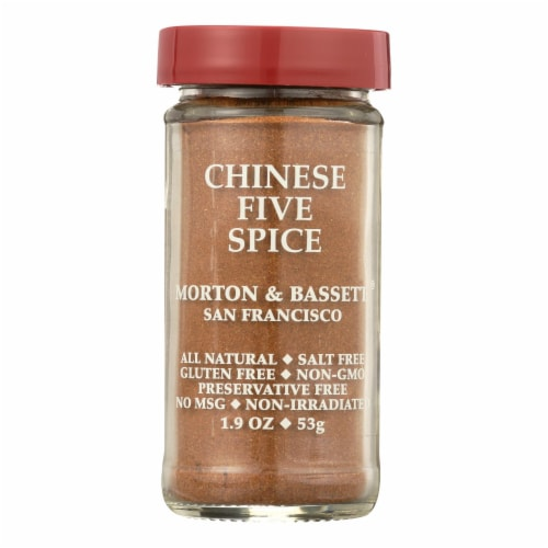 Morton and Bassett Seasoning - Chinese Five Spice - 2.3 oz - Case of 3 Perspective: front
