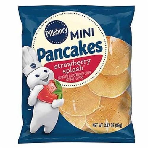 Pillsbury Strawberry Splash Mini Pancake, 3.17 Ounce -- 72 per case. Perspective: front