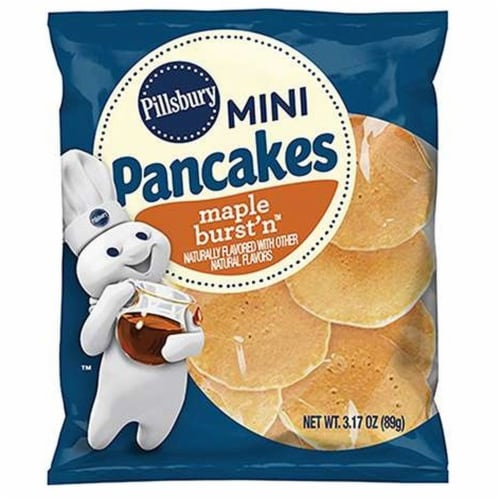 Pillsbury Maple Burst n Mini Pancake, 3.17 Ounce -- 72 per case. Perspective: front
