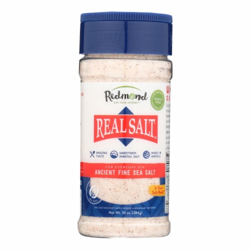Our Real Salt  - Case of 6 - 10 OZ Perspective: front