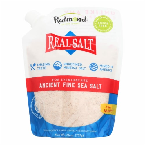 Our Real Salt  - Case of 6 - 26 OZ Perspective: front