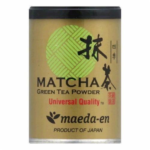 Maeda Skiki Matcha Green Tea Powder, 1 OZ (Pack of 12) Perspective: front