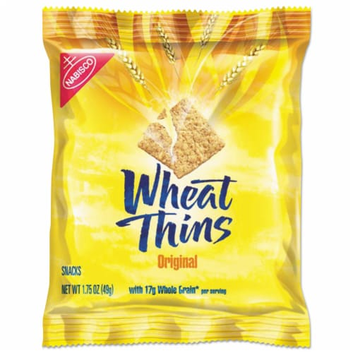Wheat Thins Cracker - 1.75 oz. bag, 72 per case Perspective: front