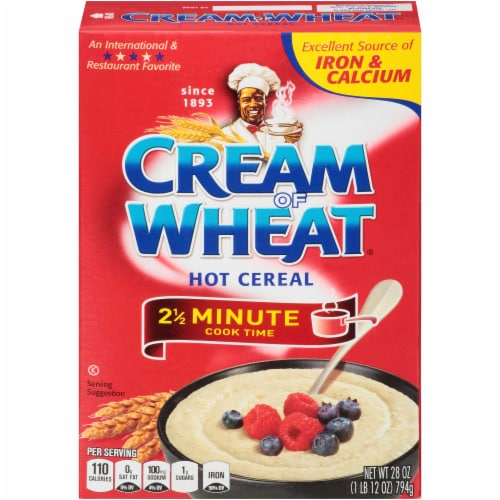 Krafts Cream of Wheat Hot Wheat Cereal - Quick, 28 Ounce -- 12 per case. Perspective: front