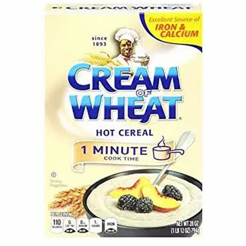 Krafts Cereal Cream of Instant Wheat , 28 Ounce -- 12 per case. Perspective: front