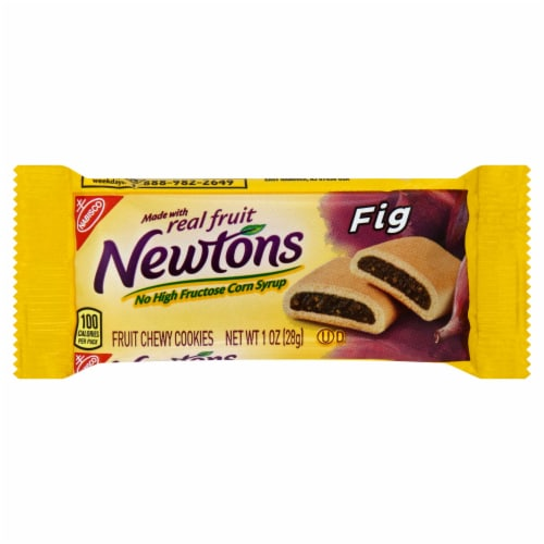 Fig Newton Cake Cookies 120 Case 1 Ounce Perspective: front