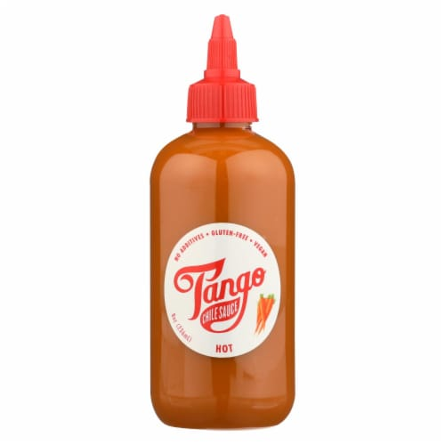 Tango Chile Sauce Chile Sauce - Case of 6 - 8 OZ Perspective: front