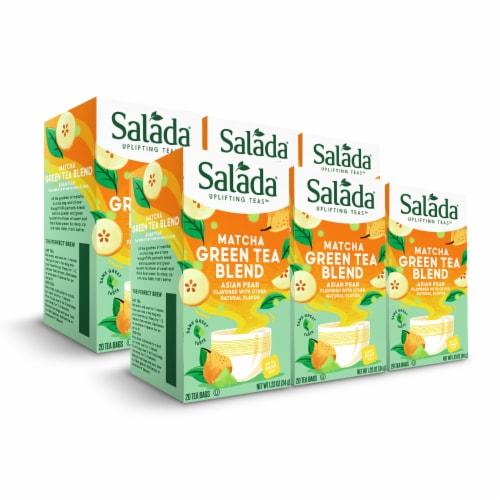Salada Asian Pear Matcha Green Tea 20ct - 6 pack Perspective: front