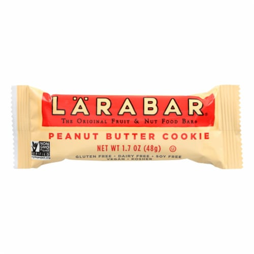 LaraBar - Peanut Butter Cookie - Case of 16 - 1.7 oz Perspective: front