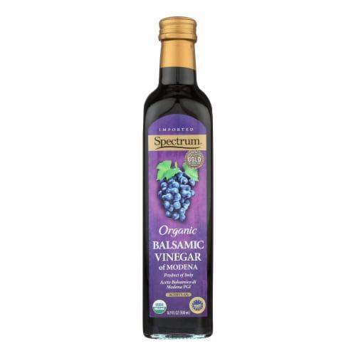 Spectrum Organic Balsamic Vinegar Perspective: front