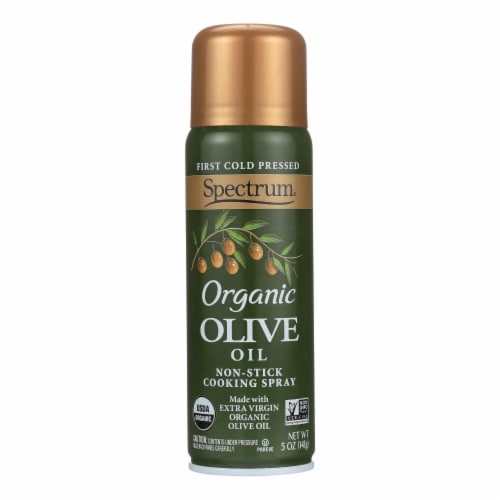Spectrum Naturals Organic Extra Virgin Olive Spray Oil - Case of 6 - 5 Fl oz. Perspective: front