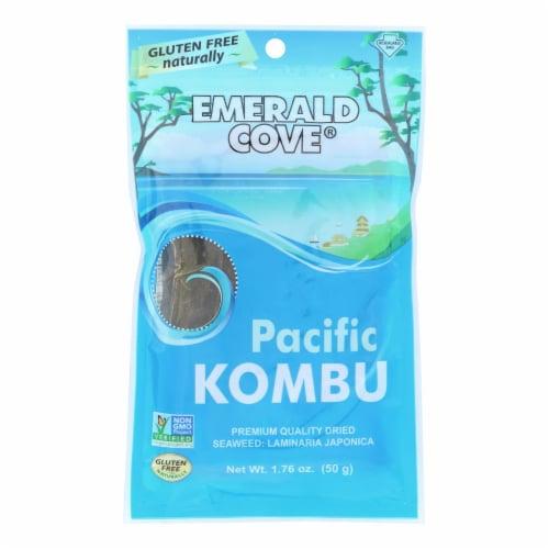 Emerald Cove Sea Vegetables - Pacific Kombu - Silver Grade - 1.76 oz - Case of 6 Perspective: front