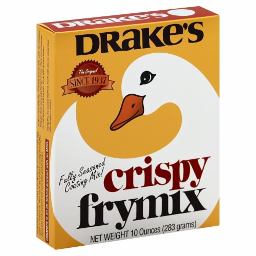 Drakes Crispy Fry Mix, 10 Oz (Pack of 6) Perspective: front