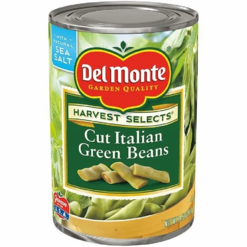Del Monte Harvest Selects Cut Italian Green Beans 14.5 Oz (Pack of 12) Perspective: front
