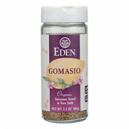 Eden Foods Organic Gomasio - Sesame Salt - 3.5 oz Perspective: front