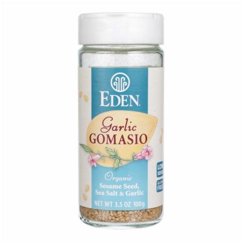 Eden Foods Organic Gomasio - Sesame Salt - Garlic - 3.5 oz Perspective: front