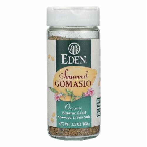 Eden Foods Organic Gomasio - Sesame Salt - Seaweed - 3.5 oz Perspective: front