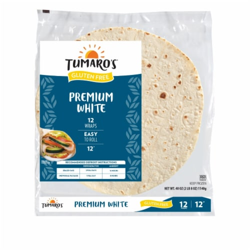 Tumaros - Tort Whole Wheat 12 Inch - Case of 6 - 12 CT Perspective: front