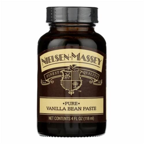 Nielsen - Massey Vanilla Bean Extract Pure Paste - Case of 6 - 4 Fl oz. Perspective: front
