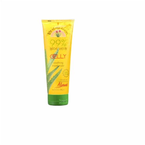 Lily of the Desert 99% Aloe Vera Gelly Soothing Moisturizer, 8 FO Perspective: front