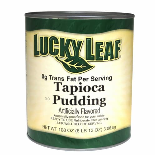 Lucky Leaf Tapioca Pudding, 108 Ounce -- 6 per case. Perspective: front