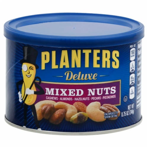 Planters Deluxe Mixed Nuts Perspective: front