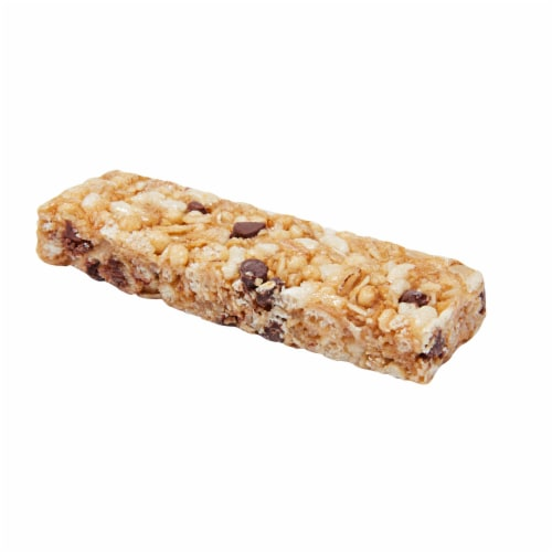 Quaker Chewy Chocolate Chip Granola Bar, 0.84 Ounce - 8 per pack -- 12 packs per case. Perspective: front