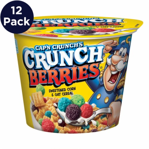 Cap'N Crunch Berries Cereal Cups Perspective: front
