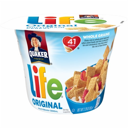 Life Original Cereal Cup Perspective: front