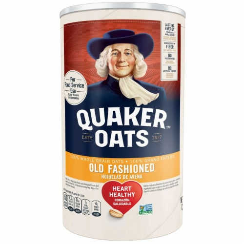 Old Fashioned Quaker Oats -- 12 Case 42 Ounce Perspective: front