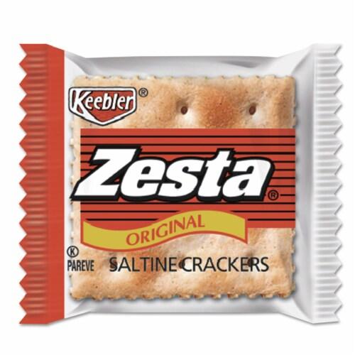 Cracker Keebler Zesta Saltine 500 Case 2 Count Perspective: front