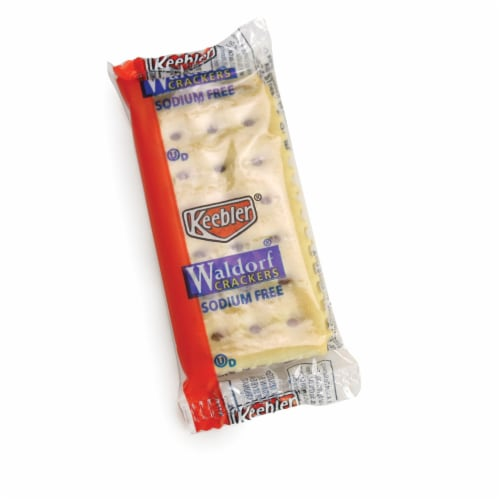 Cracker Keebler Waldorf Sodium Free 300 Case 2 Count Perspective: front