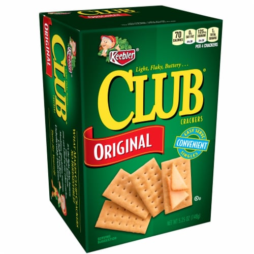 Keebler Club Crackers - 5.25 oz. package, 12 per case Perspective: front