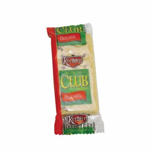 Cracker Keebler Club 500 Case 2 Count Perspective: front