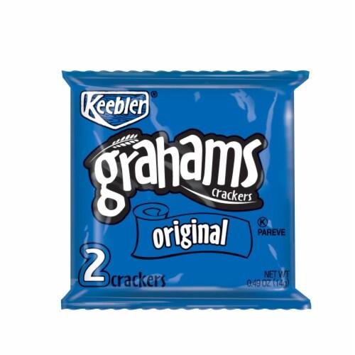 Keebler Original Graham Crackers, 0.49 Ounce -- 200 per case Perspective: front