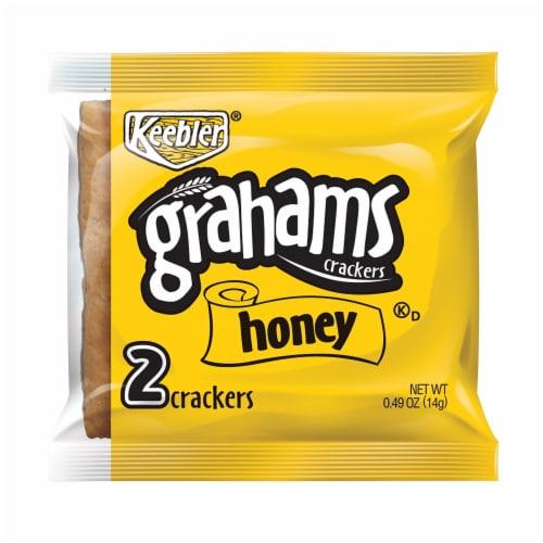 Cracker Keebler Honey Graham,2 Count -- 200 per case Perspective: front